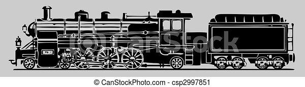 antigas, locomotiva - csp2997851