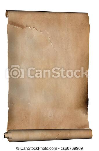 antigas, manuscrito - csp0769909