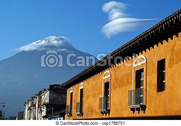Antigua, Guatemala - csp1788751