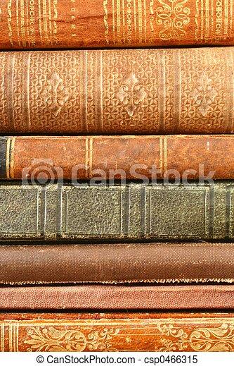 antik, bøger - csp0466315