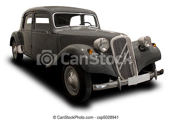 antik bil - csp5028941