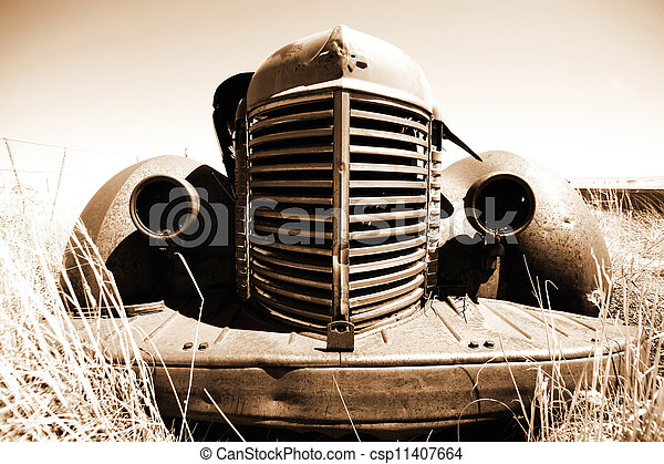 antik bil - csp11407664