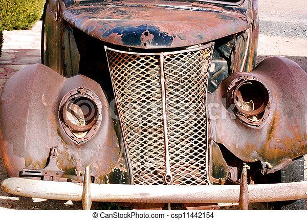 antik bil - csp11442154