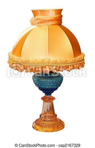 antik, lámpa - csp2167329