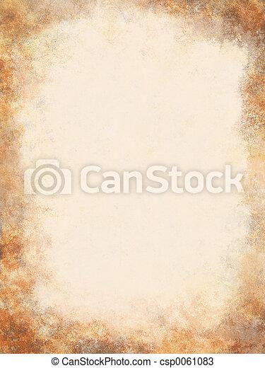 antik, pergament - csp0061083