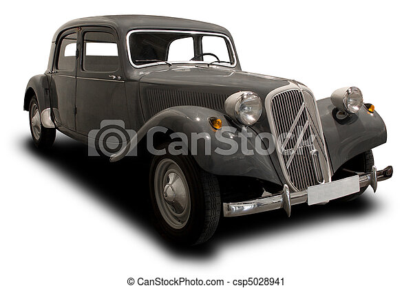 antik vogn - csp5028941