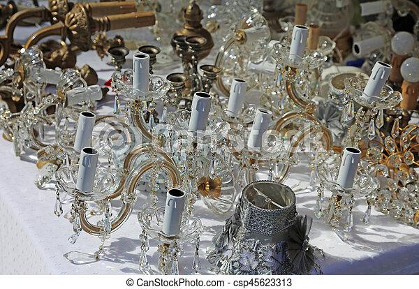 Antike Kronleuchter Verkaufen ~ Antikes glas verkauf antiquitäten kristall kronleuchter markt
