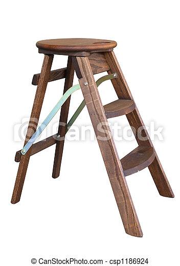 Trittleiter Holz trittleiter holz fabulous dekoleiter holz natur l x t x h with