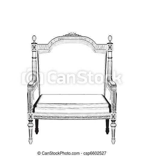 Antique Armchair - csp6602527
