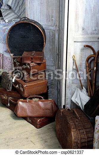 antique baggage - csp0621337