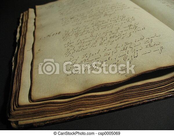Antique Book I - csp0005069