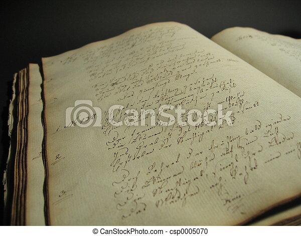 Antique Book II - csp0005070