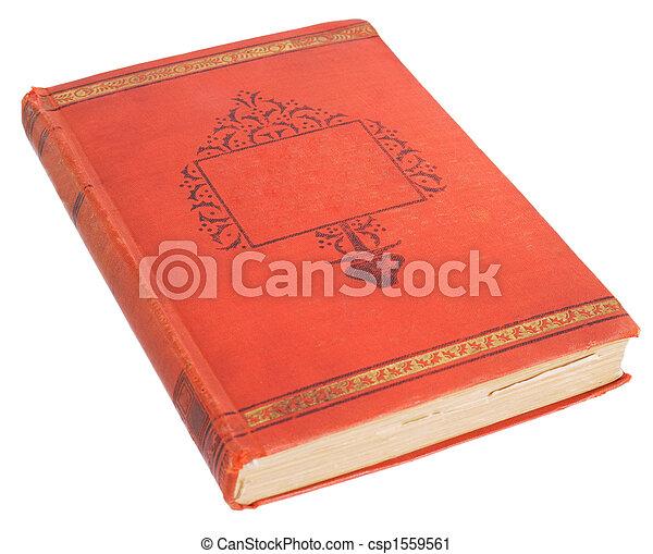 Antique book - csp1559561