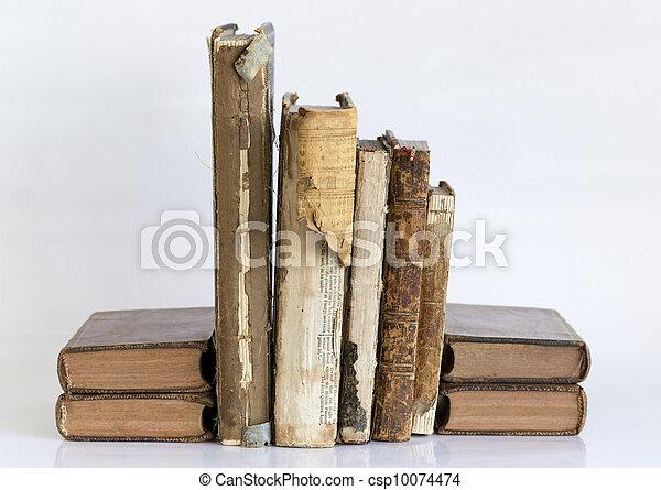 Antique books - csp10074474