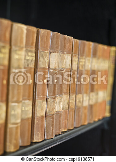 Antique books - csp19138571