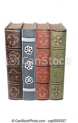 Antique Books - csp5550327