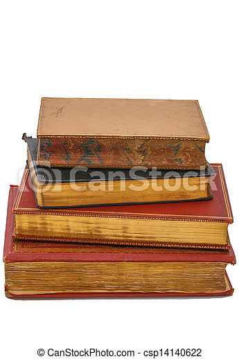 Antique books - csp14140622