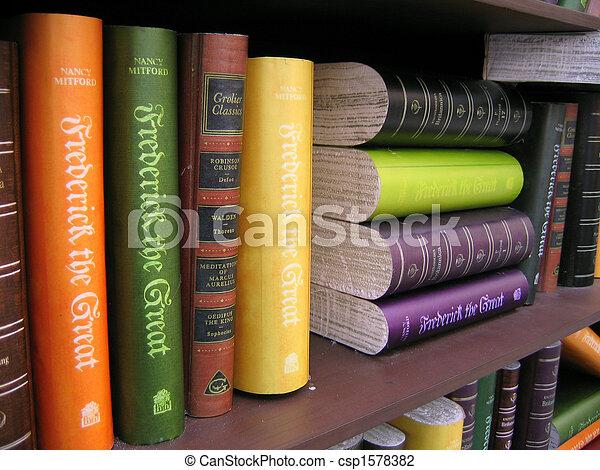 Antique Books - csp1578382