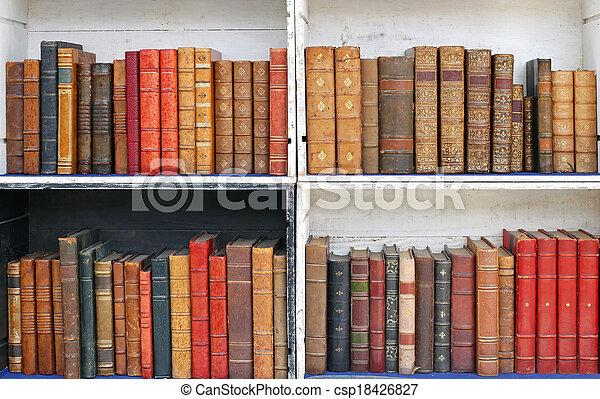 Antique books - csp18426827