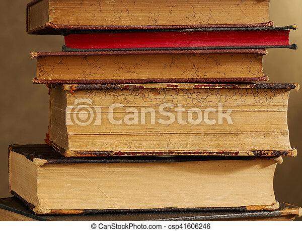 Antique books - csp41606246