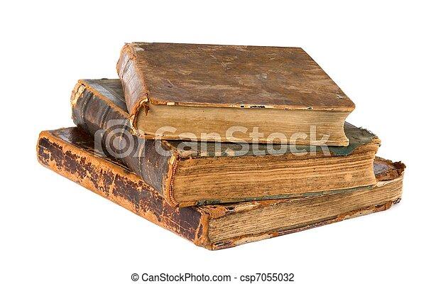 antique books - csp7055032