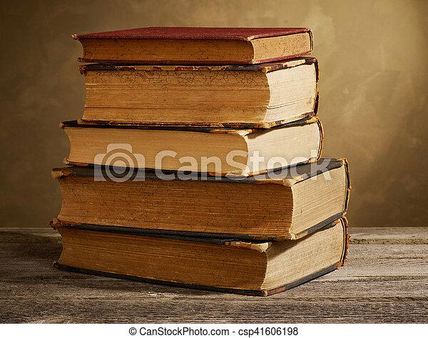 Antique books - csp41606198