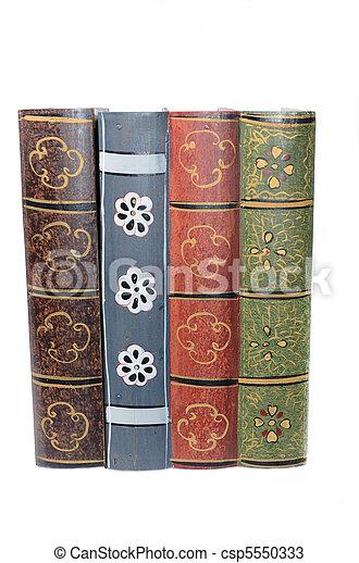 Antique Books - csp5550333