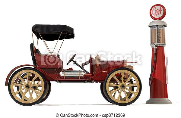 Antique Car 1910 - csp3712369
