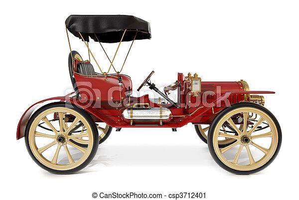 Antique Car 1910 - csp3712401