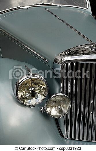 Antique car grill 2 - csp0831923