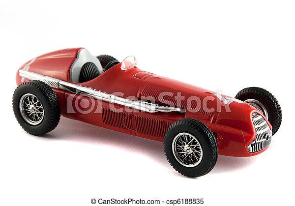 Antique car model - csp6188835