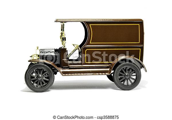 Antique car - csp3588875