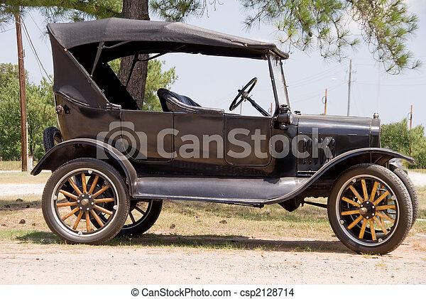 Antique Car - csp2128714