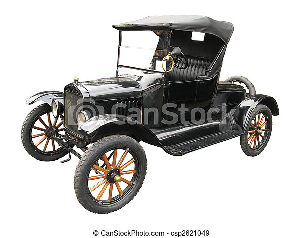 Antique car - csp2621049