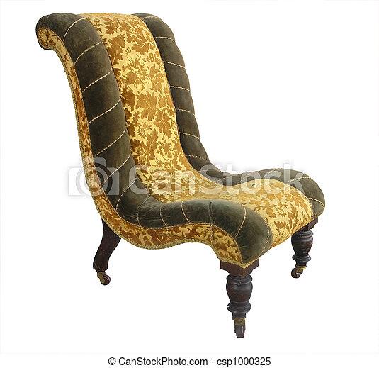 Antique Chair - csp1000325