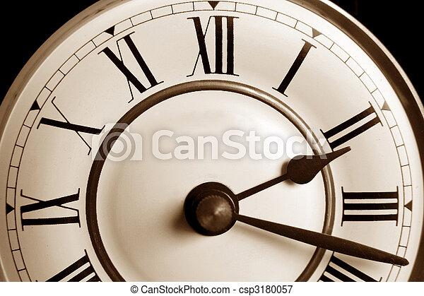 antique clock - csp3180057