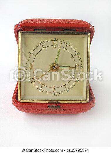 antique clock     - csp5795371