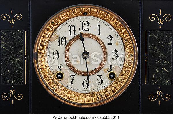 antique clock - csp5853011