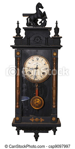 Antique clock  - csp9097997