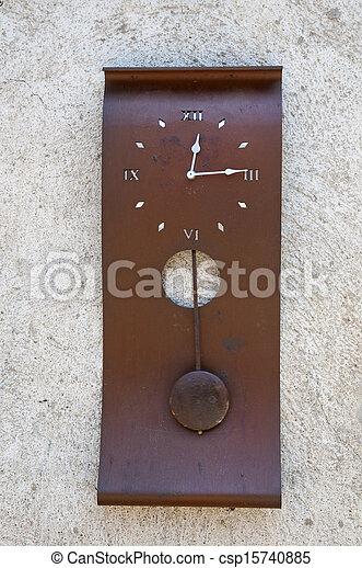 antique clock - csp15740885