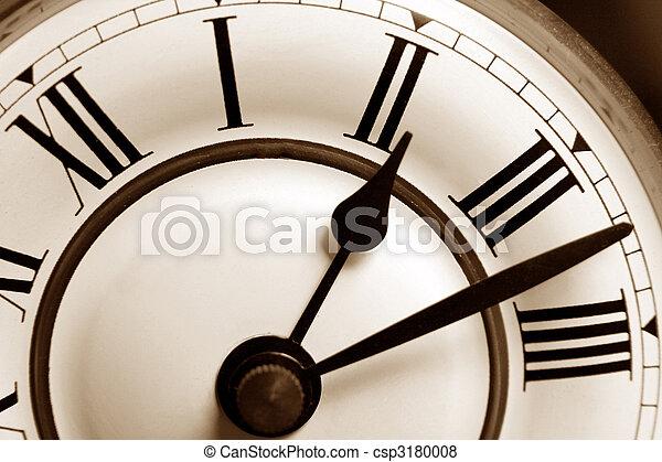 antique clock - csp3180008
