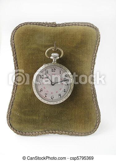 antique clock      - csp5795369