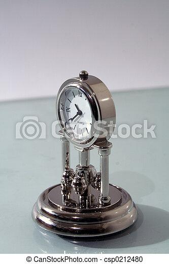 Antique clock - csp0212480