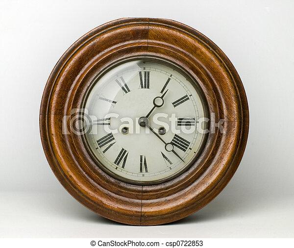 antique clock - csp0722853