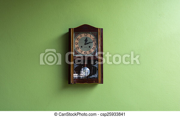 antique clocks - csp25933841