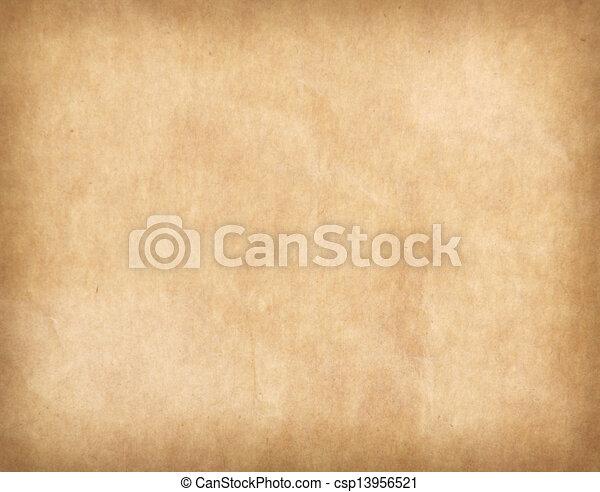 antique cracked paper texture - csp13956521