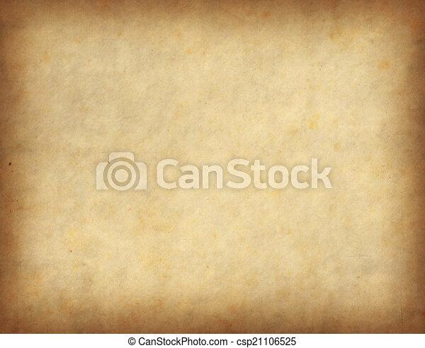 antique cracked paper texture - csp21106525