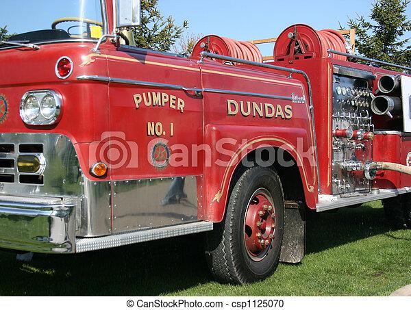 Antique Firetruck - csp1125070