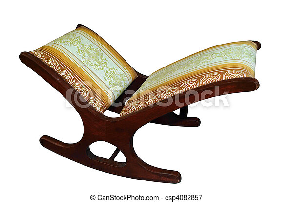 Antique Footstool - csp4082857