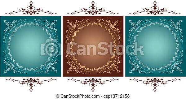 antique frame - csp13712158